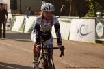Sara Olsson avant la course